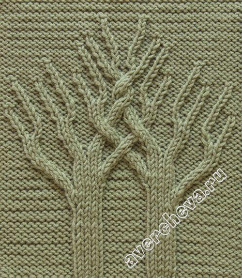 """【转载】针织模式:"""" 生命之树 """"(图案520) - 喝茶晒太阳的日志 - 网易博客 - 804632173 - 804632173的博客"""