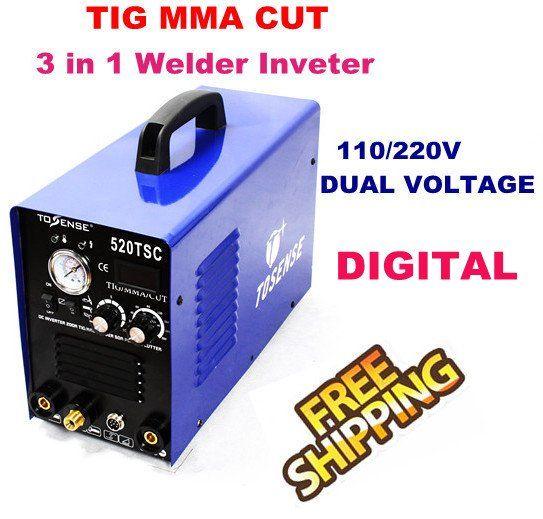 Inverter TIG welding machine arc welder Plasma Cutter Machines 520TSC #Affiliate