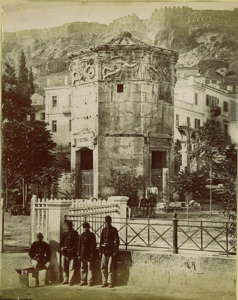 Water clock, Athens - c.1880s
