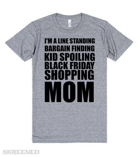 BLACK FRIDAY SHOPPING MOM #Skreened