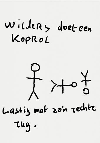 Geert de acrobaat