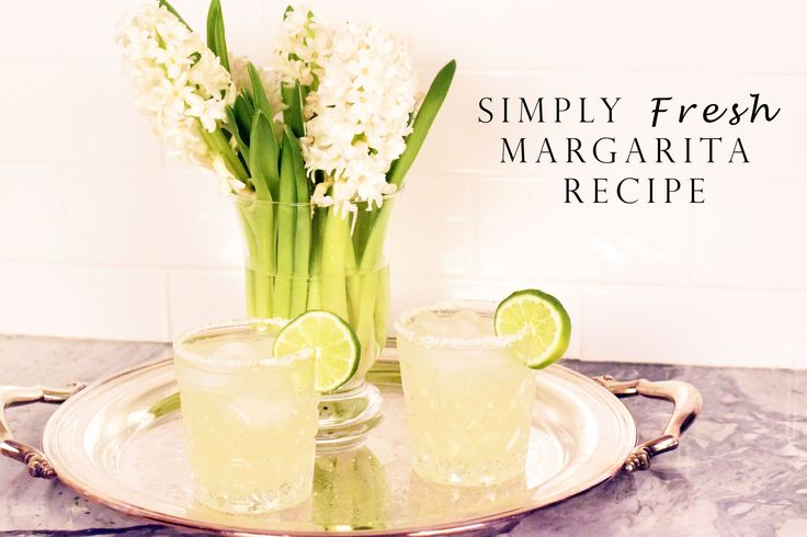 This recipe is easy, fresh, and sure to make your taste buds tingle with joy! Print out the recipe & shake up your Simply Fresh Margarita Recipe to celebrate!