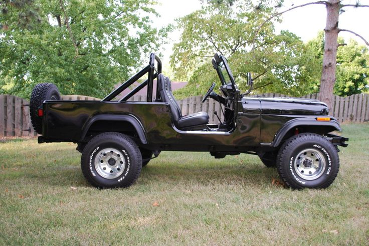 1983 Jeep Scrambler CJ-8 - Frame Off Restored