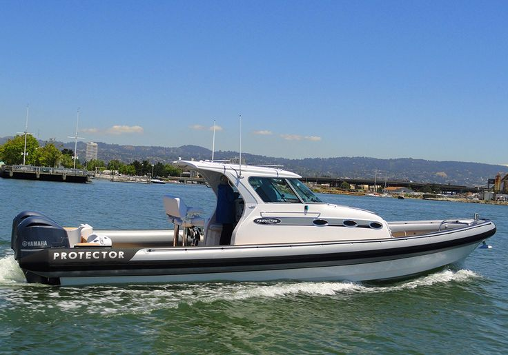 Interested in a Tauranga 41' RIB Boat? Learn more about the best rigid inflatable boats on the market at ProtectorBoats.com.