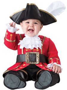 Pirate Captain Cuteness Infant Costume