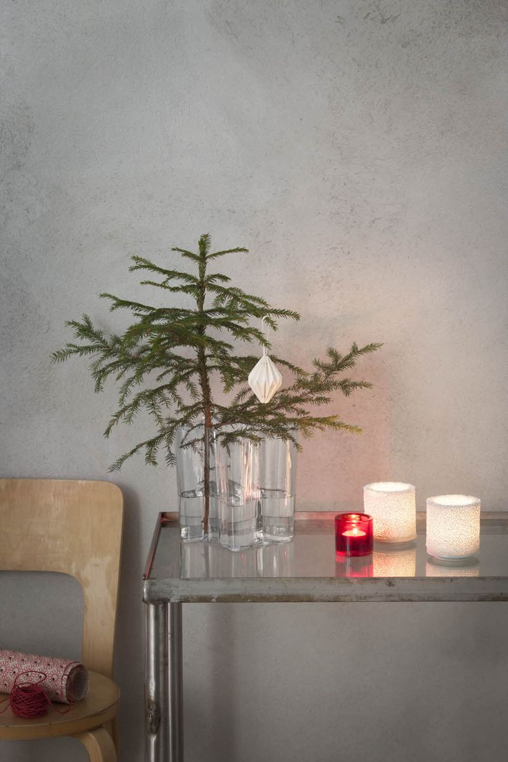 Christmas tree in Aalto vase