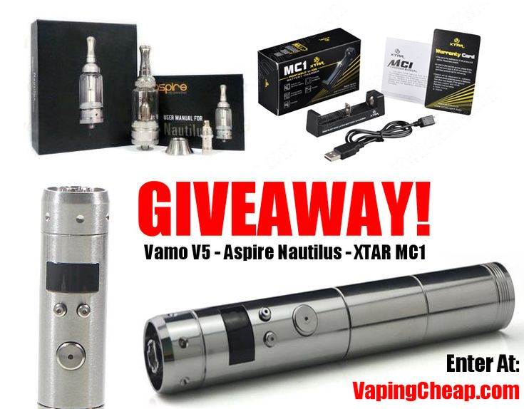 Electronic Cigarette Giveaway - Package #3 |Vaping Deals https://gleam.io/LDOoj-bz4GbO