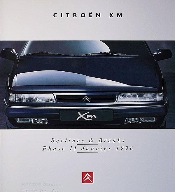 XM, Break. : CITROEN-CATALOG-GALLERY : by CITROEN DS.