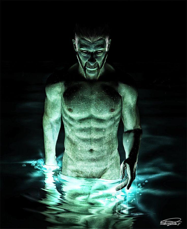 Ra's al Ghul, The Lazarus Pit by DanielMurrayART on DeviantArt