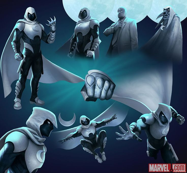 MOON KNIGHT (Marc SPECTOR) | 4 Stars | Action Poses | Marvel PUZZLE QUEST