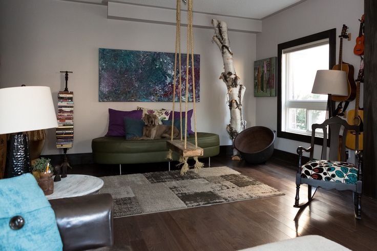 It Starts With a Swing in The Living Room: Details from a Funky Family Home — House Call