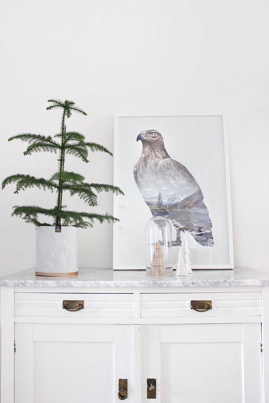 Foto: Koselig Blog / poster: Faunascape van WhatWeDo / via www.uittnoorden.nl