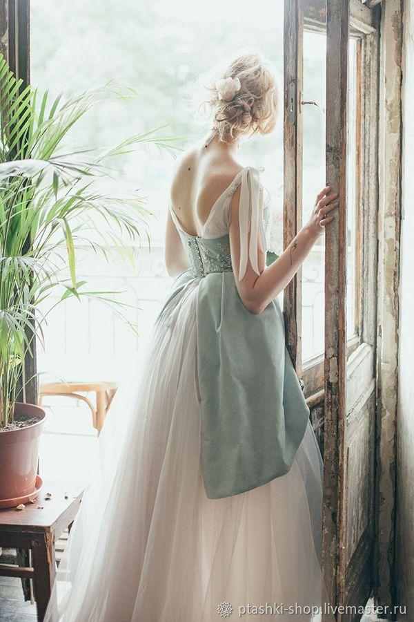 Blue Wedding Dress |  Дельфиниум – купить в интернет-магазине на Ярмарке Мастеров с доставкой