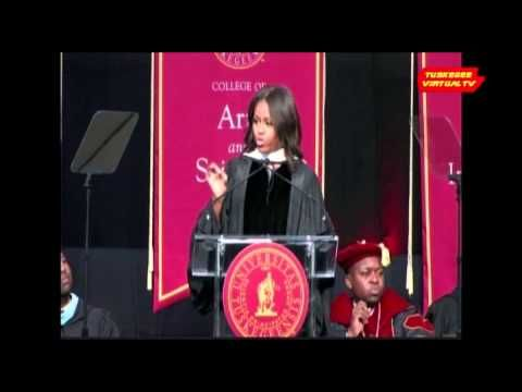 Michelle Obama's Inspiring Speech at Tuskegee University - such a strong, encouraging, powerful, brilliant, wonderful First Lady - YouTube