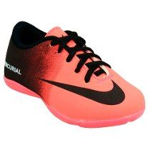 Tênis Chuteira Futsal Quadra Infantil Nike Mercurial Vortex