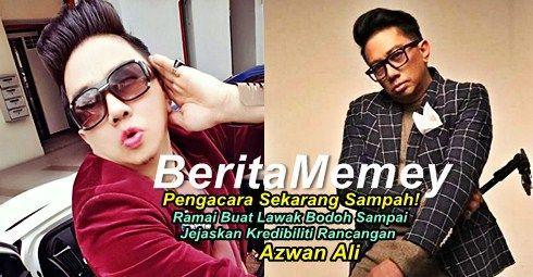 """""""Pengacara Sekarang Sampah! Ramai Buat Lawak Bodoh Jejaskan Kredibiliti Acara""""- Azwan Ali   """"Pengacara Sekarang Sampah! Ramai Buat Lawak Bodoh Jejaskan Kredibiliti Acara""""- Azwan Ali  Azwan Ali telah meluahkan rasa kecewa dengan pengacara yang sedang memonopoli rancangan hiburan tanah air ketika ini. Jika dulu nama Azwan Ali dan juga Aznil Hj Nawawi sering menjadi nama besar sebagai pengacara paling hebat di Malaysia dan cara mereka menajdi pengacara memang profesional. Kini kebanyakkan…"""