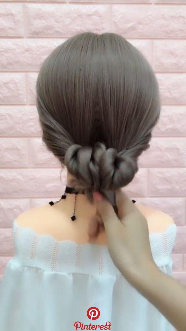 How To Braid 20 Braid Hairstyles Video Tutorials In 2019 Hair Styling Braided Hairstyles Braids For Long Hair Long Hair Styles