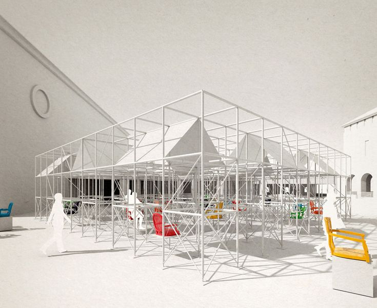 design with company to build pavilion MMM in miami
