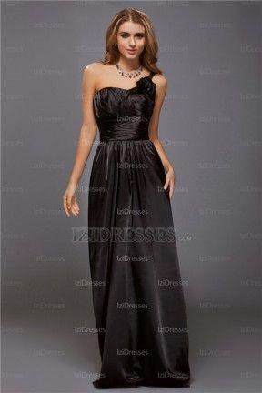 Sheath/Column One Shoulder Elastic Woven Satin Evening Dress - IZIDRESSES.COM