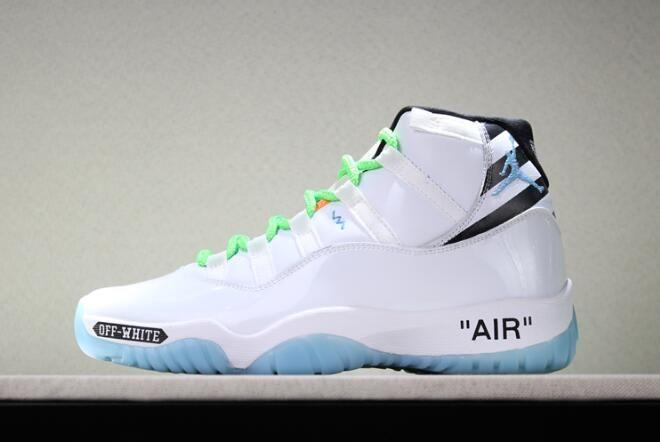 Custom Off-White x Air Jordan 11 White