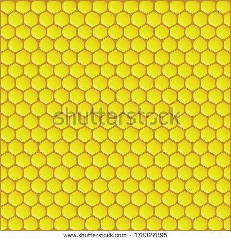 Bee Honeycomb Sketch | Beehive Stock Photos, Illustrations, and Vector Art