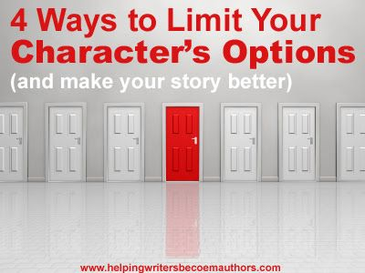 Given a predicament, a character in a story will have a number of options on how to proceed. As in real life, some of those options will be more sensible than others. Doing the sensible thing saves a lot of grief and trouble, which is why it is absolutely no good for fiction writers.