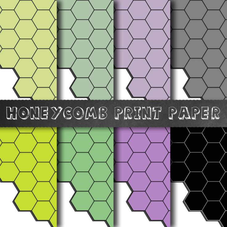 Honeycomb Paper - Hexagon Paper, Geometric Paper, Hexagonal Papers, Geometric Scrapbook Paper, Bees Wax Paper, Digital Papers, Color Block by CatherineClennan on Etsy https://www.etsy.com/listing/223852560/honeycomb-paper-hexagon-paper-geometric
