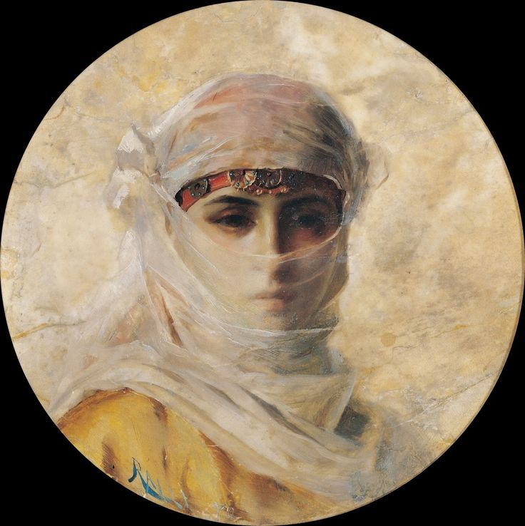From a well-known family of Chios, Greek painter Theodoros Rallis Θεόδωρος Ράλλης [1852-1909] worked for a brief period in the commercial house of Rallis-Mavroyannis in London, but abandoned his entrepreneurial career and settled permanently in Paris, at the Ecole des Beaux-Arts. There he studied painting under the academic teacher and Orientalist painter Jean-Leon Gerome until approximately 1880. In 1873 he took part in the Salon des Refuses.