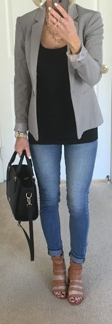 Grey Blazer + Goal Getting   On the Daily EXPRESS