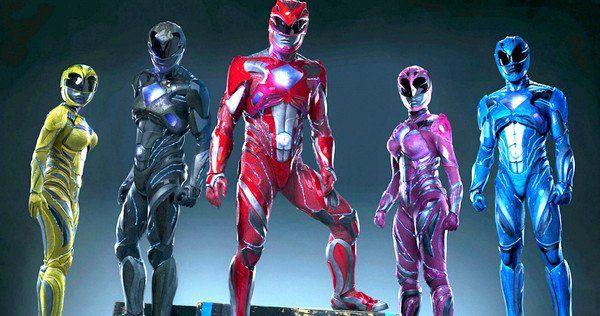 Avalanche de Power Rangers sur Twitch