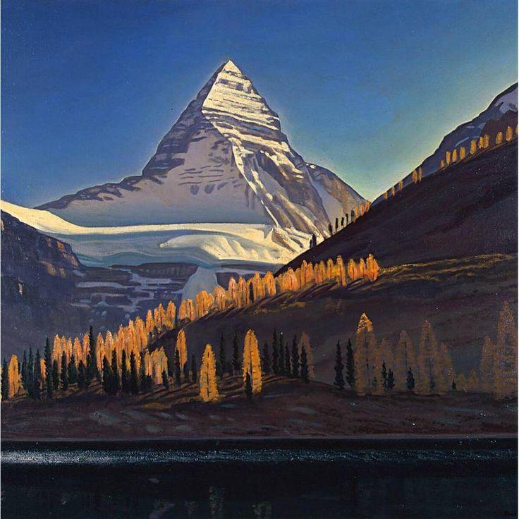 Рокуэлл Кент - Гора Ассинибойн. Канадские скалистые горы