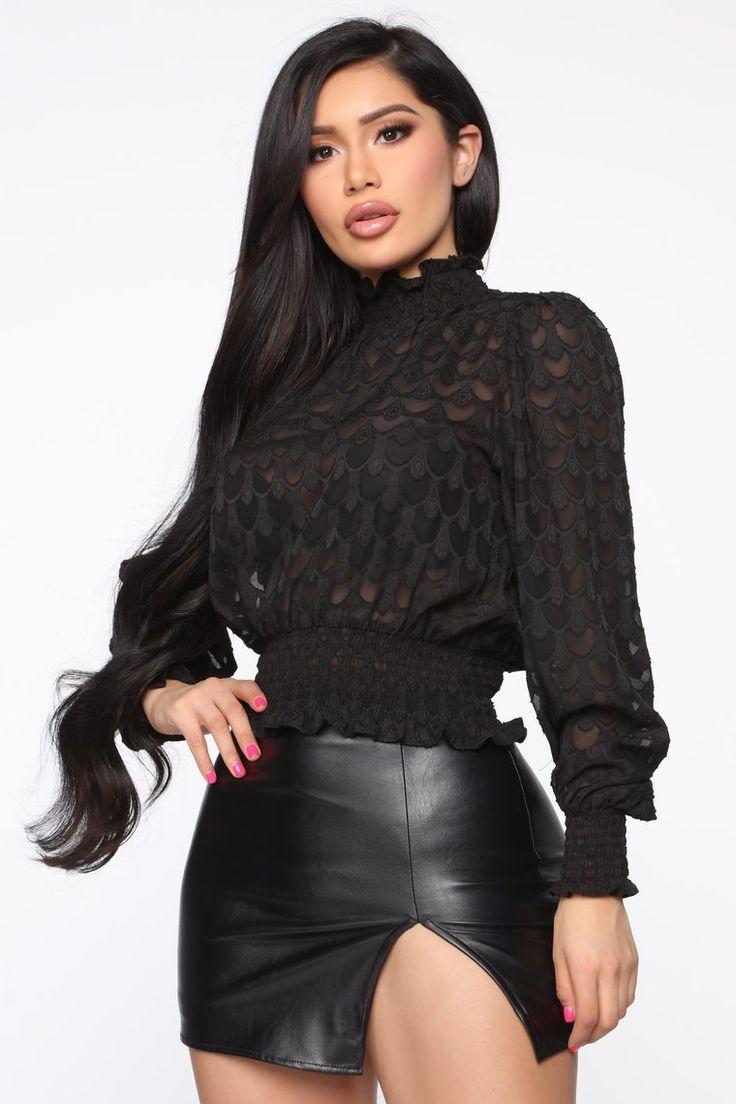 Sweet Talker Blouse Black Black blouse, Bodysuit