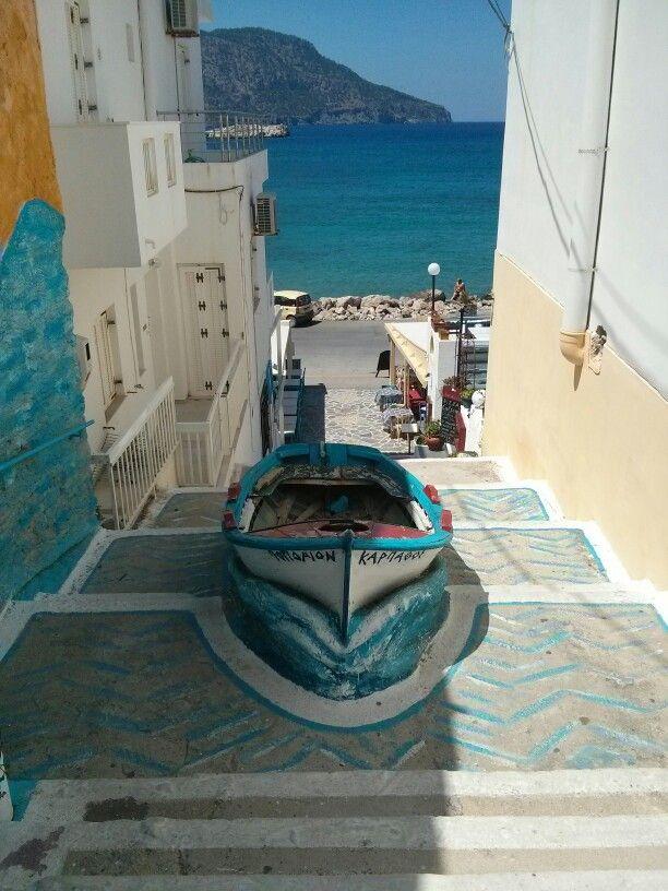 Pigadia harbor Karpathos Greece