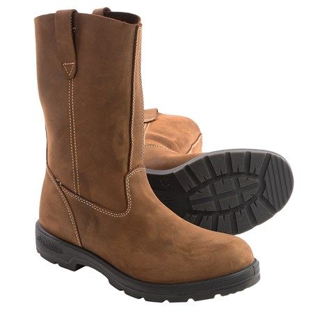 Blundstone 548 Rigger Boots (For Men and Women) in Crazy Horse