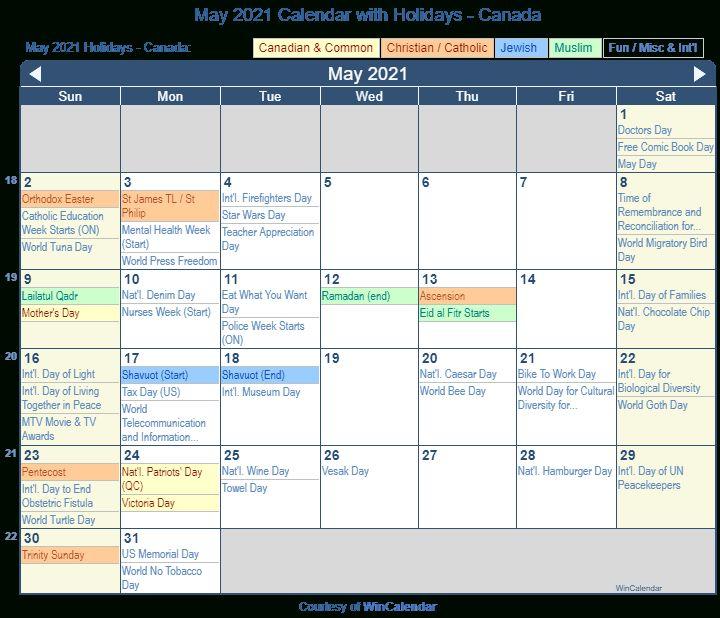 May 2021 Calendar With Holidays Canada 2022 Calendar Pertaining To September 2021 Calendar In 2021 June 2019 Calendar Holiday Calendar Printable Canada Holiday