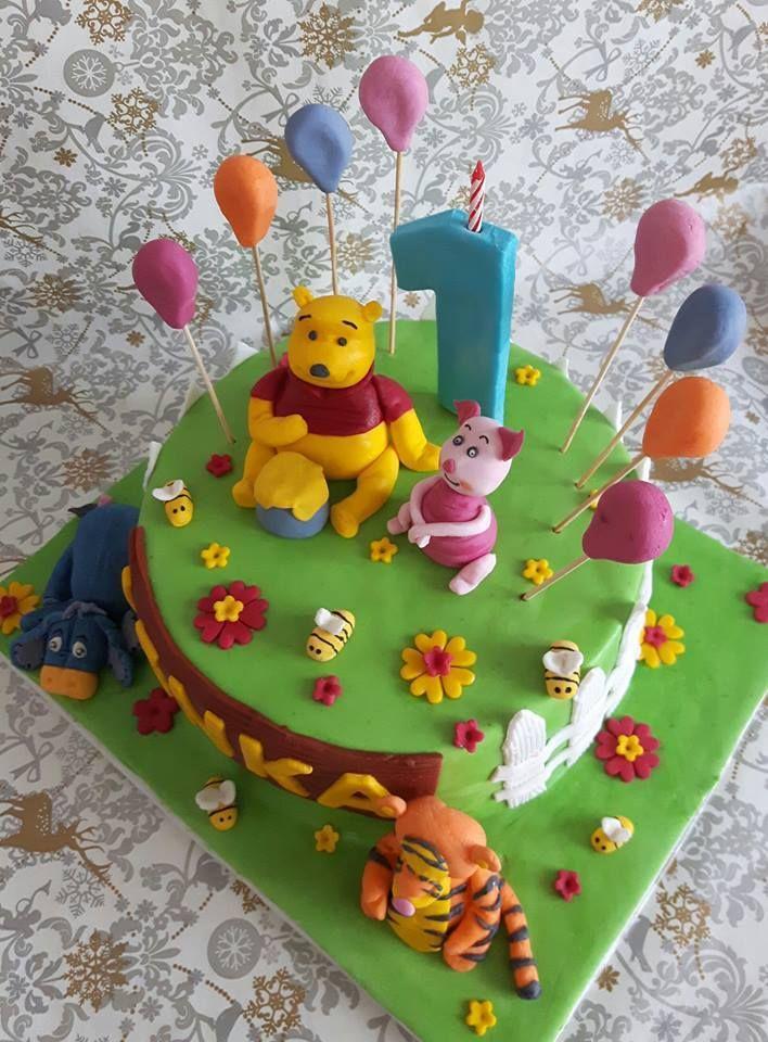 Winnie the Pooh cake - Kubuś
