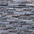 3D Brick STONE Natural Colour Slate outdoor rustic look Rock 10M Wallpaper Roll