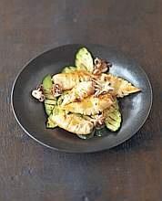 Calamari e zucchine alla griglia