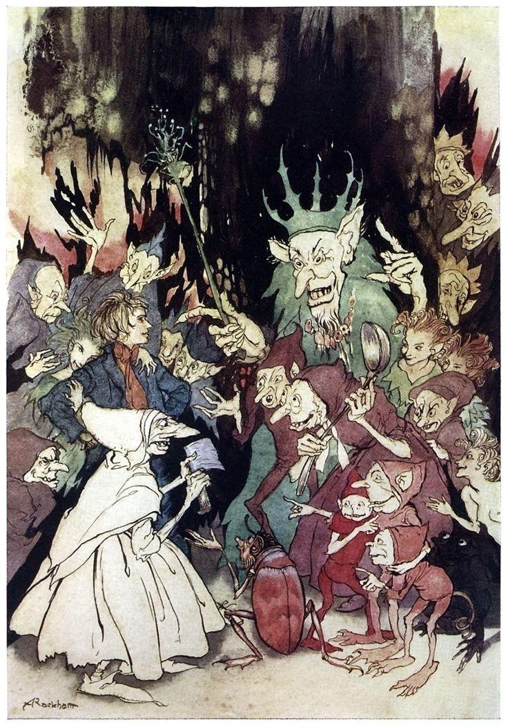 Peer before the King of the Tolls - Peer Gynt. A Dramatic Poem by Henrik Ibsen, 1936