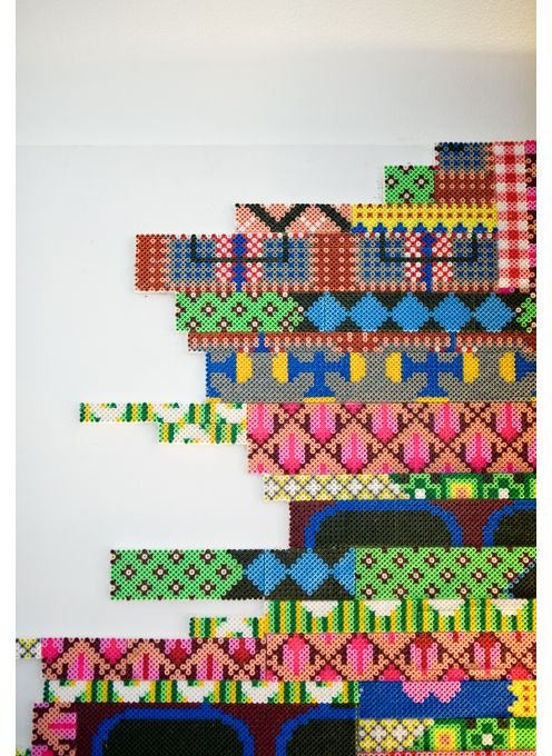 little plastic hama beads. by cilla ramnek.: Irons Beads, Beads Wall, Plastic Beads, Hama Art, Cilla Ramnek, Perler Beads, Beads Art, Hama Beads Patterns, Art Ideas Inspiration