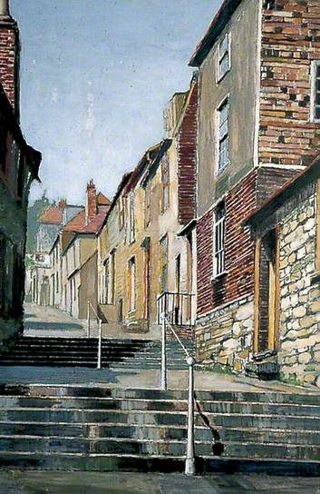 Church Hill Steps, Hythe, Kent by Arthur Baker-Clack