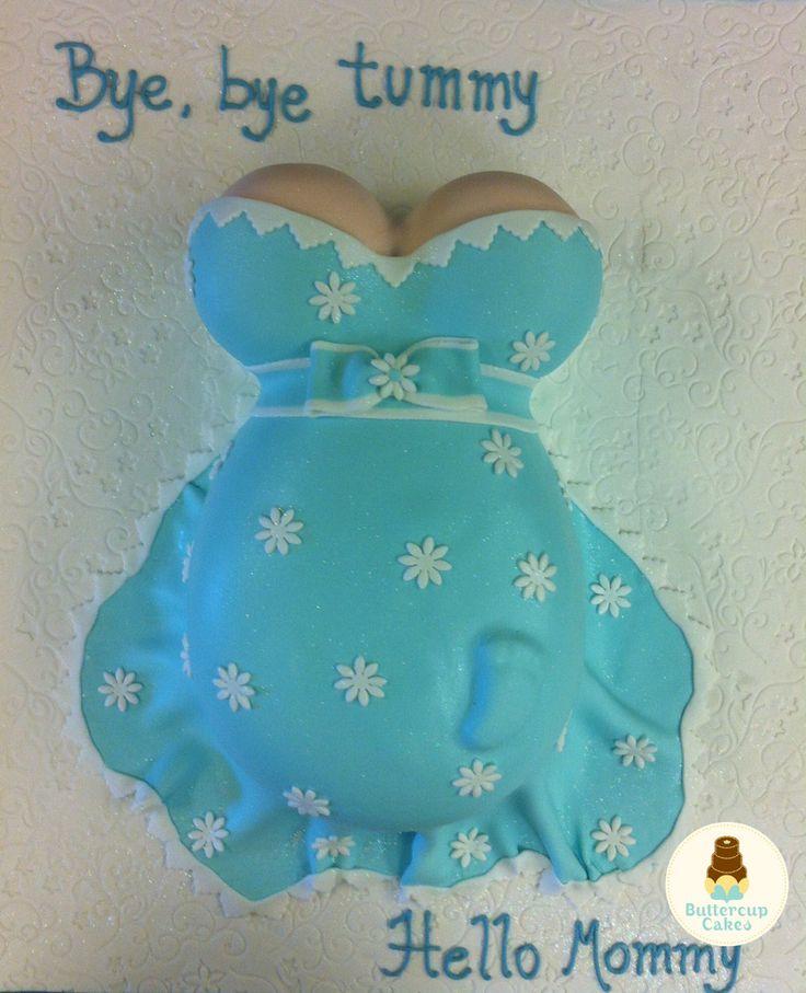 Belly Baby Shower Cake
