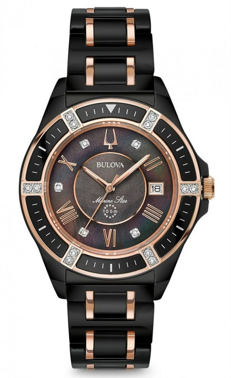 Bulova Marine Star Ladies 98R242
