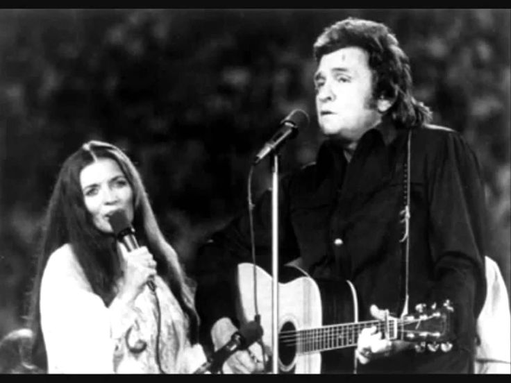 Young Johnny Cash And June Carter Children