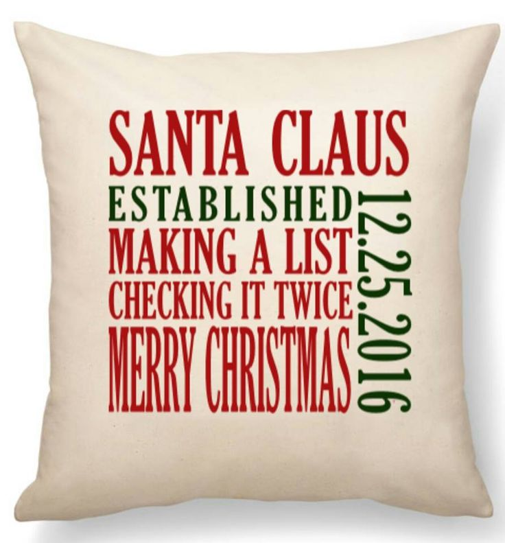 Personalize your thirty-one pillow for Christmas!!! Makes a great gift too
