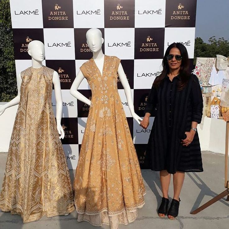 A preview of Anita Dongre's Grand Finale collection inspired by 'Liquid Gold' for Lakme Fashion Week Summer Resort 2017. @lakmefashionwk