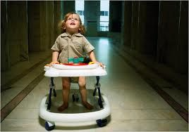 Baby Walkers- Why you'll never see a physical therapist recommend one