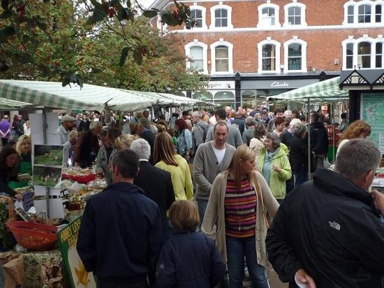 Local Farmers' Market on Nantwich Town Square