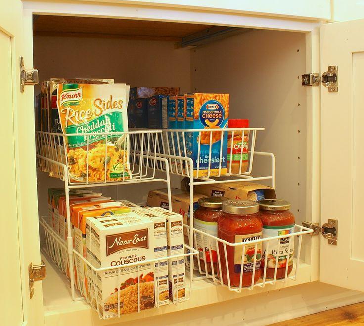 Kitchen Cabinet Organization Ideas: 17 Best Images About Pantry Organization Ideas On
