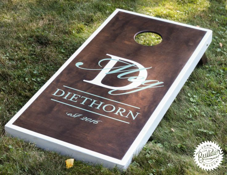 "DIY Woodworking Ideas MAKE A SET OF ""CLASSY"" CORNHOLE BOARDS 